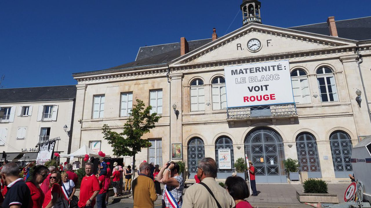 Une manifestation le 15septembre dernier devant la maternité contre sa fermeture.