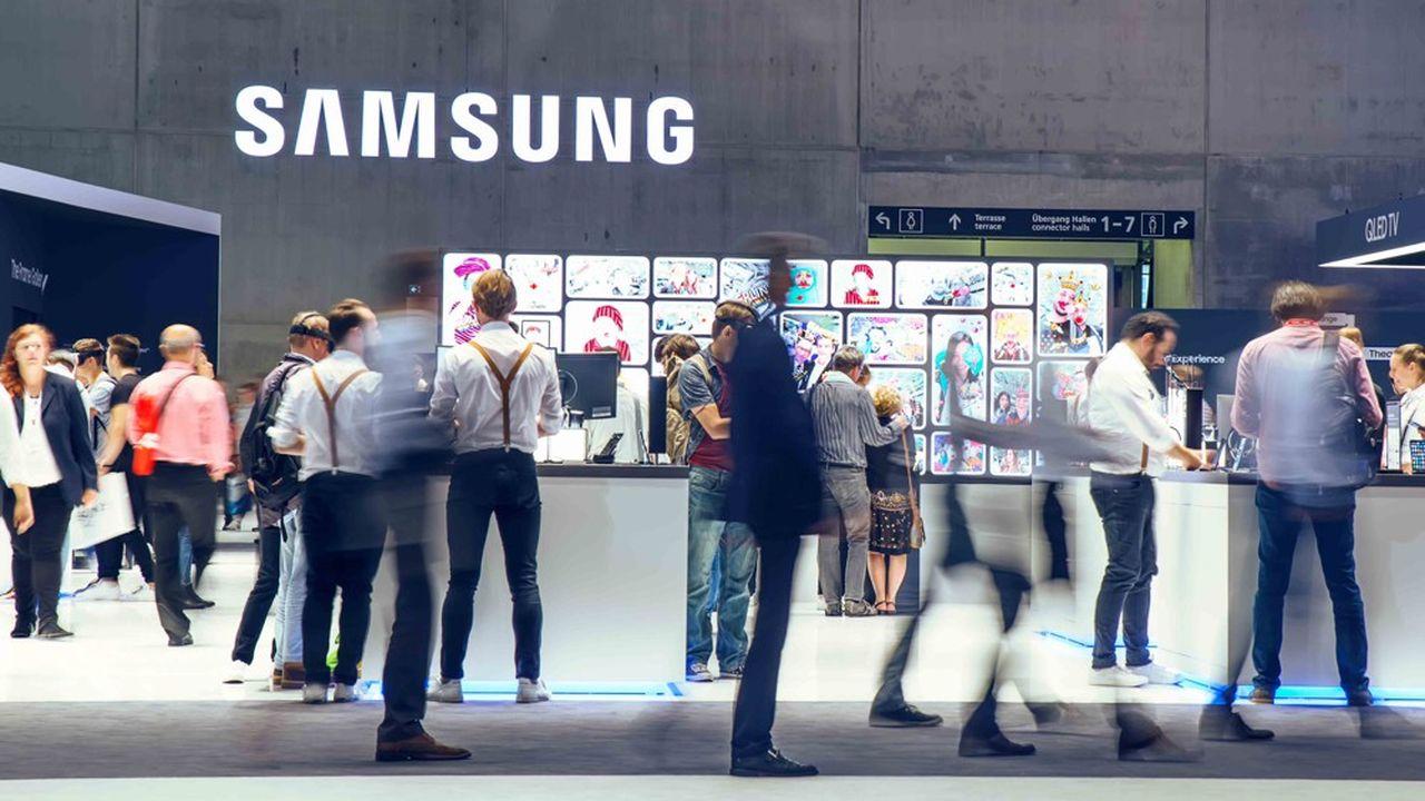 Samsung Electronics a subi une passe difficile à la fois dans les composants électroniques, sa principale source de profits, et dans les smartphones.