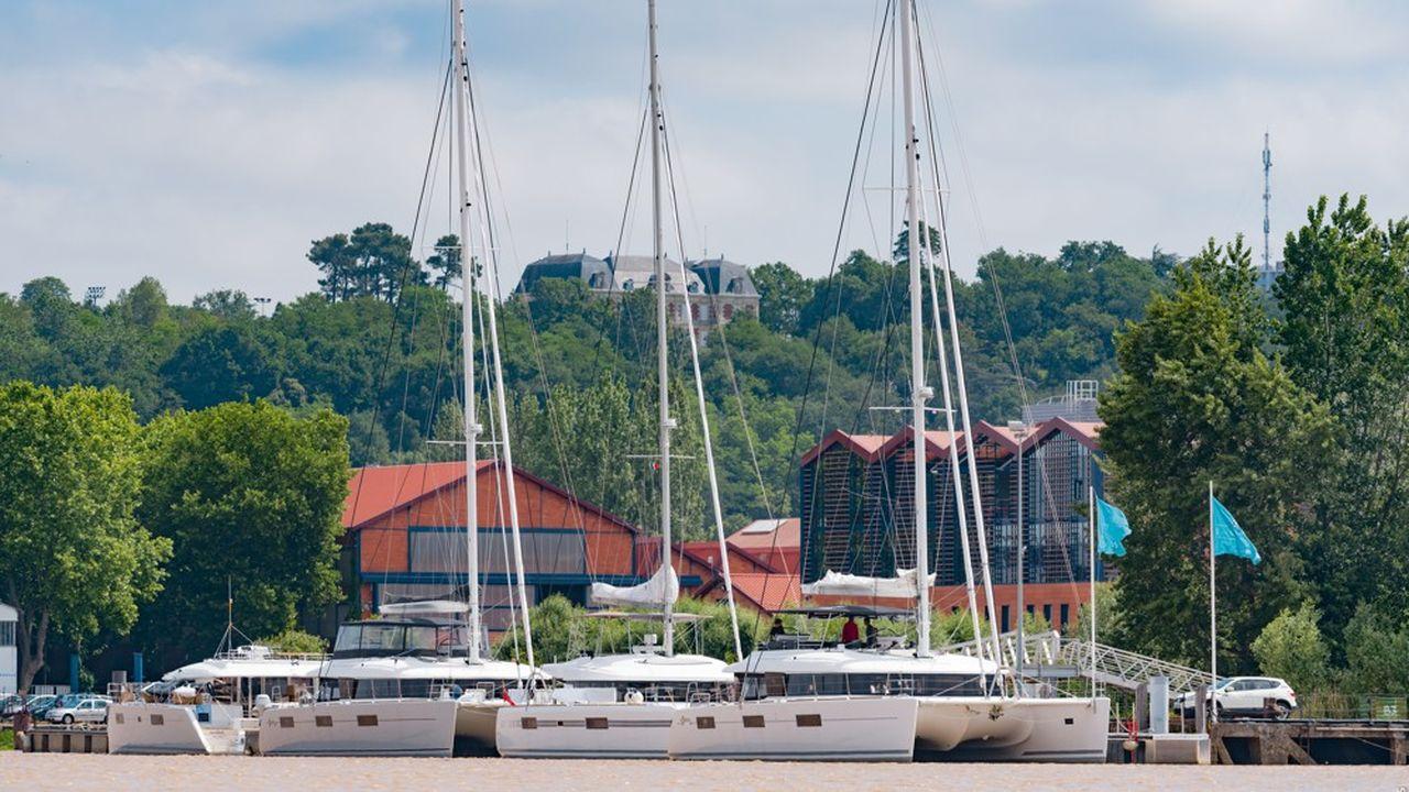 600 catamarans de la marque Lagoon sont vendus chaque année.