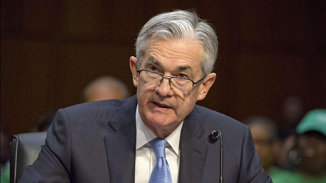 Le patron de la Fed Jerome Powell