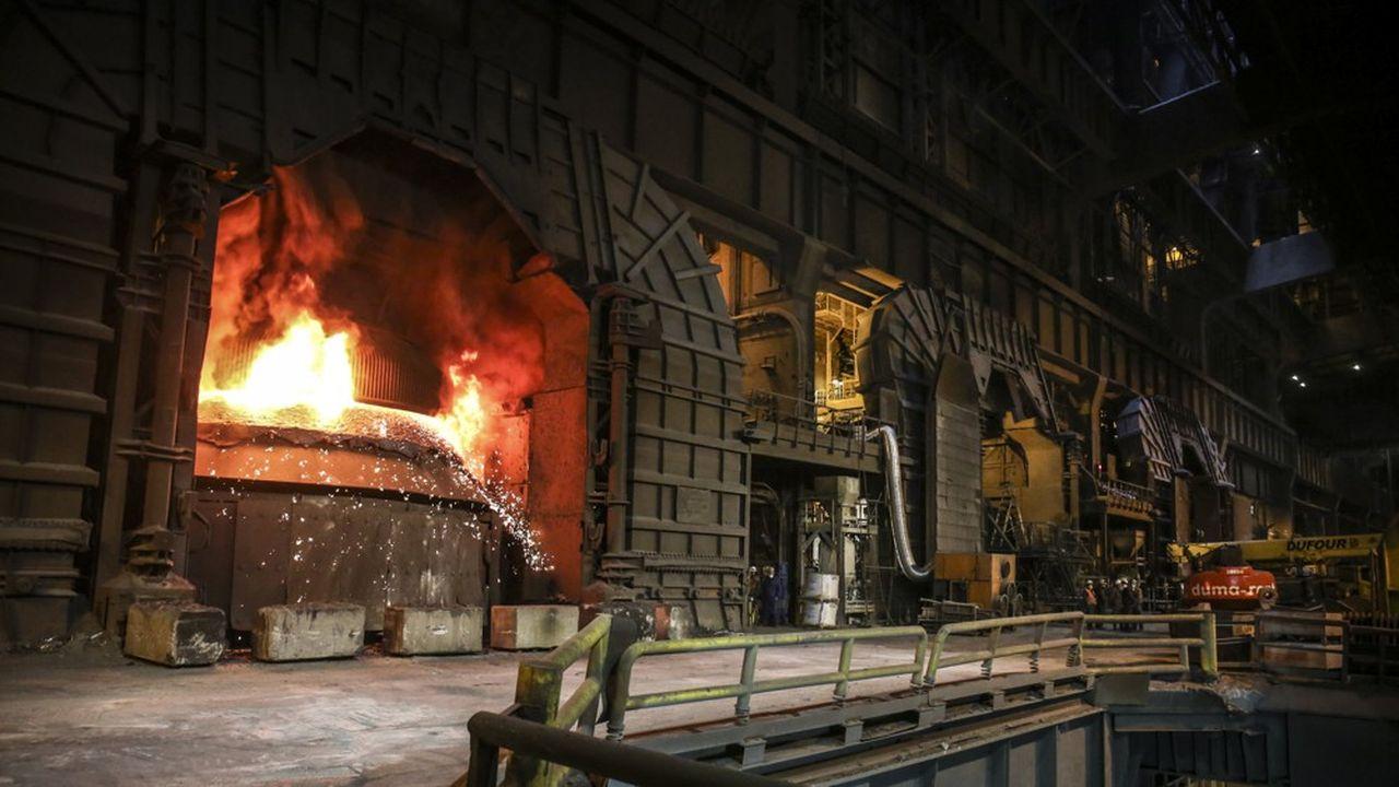 ArcelorMittal a subi la baisse de la demande combinée à l'augmentation du prix du minerai de fer, sa principale matière première.