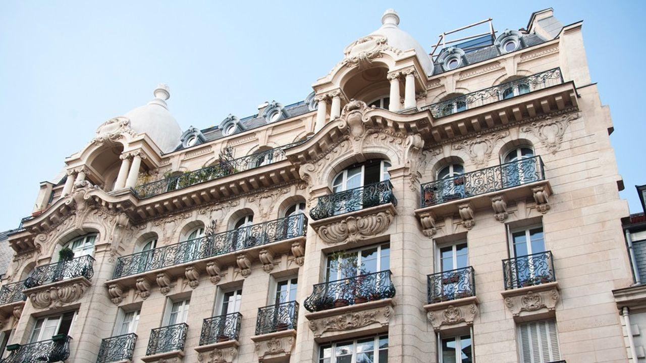 En juillet, l'immobilier parisien a continué son ascension pour s'établir à 9 869 euros/m2