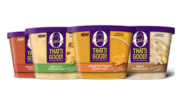 L'animatrice a noué une joint-venture avec Kraft Heinz pour lancer la marque alimentaire O, That's Good! dont 10% des bénéfices vont à des organisations caritatives.