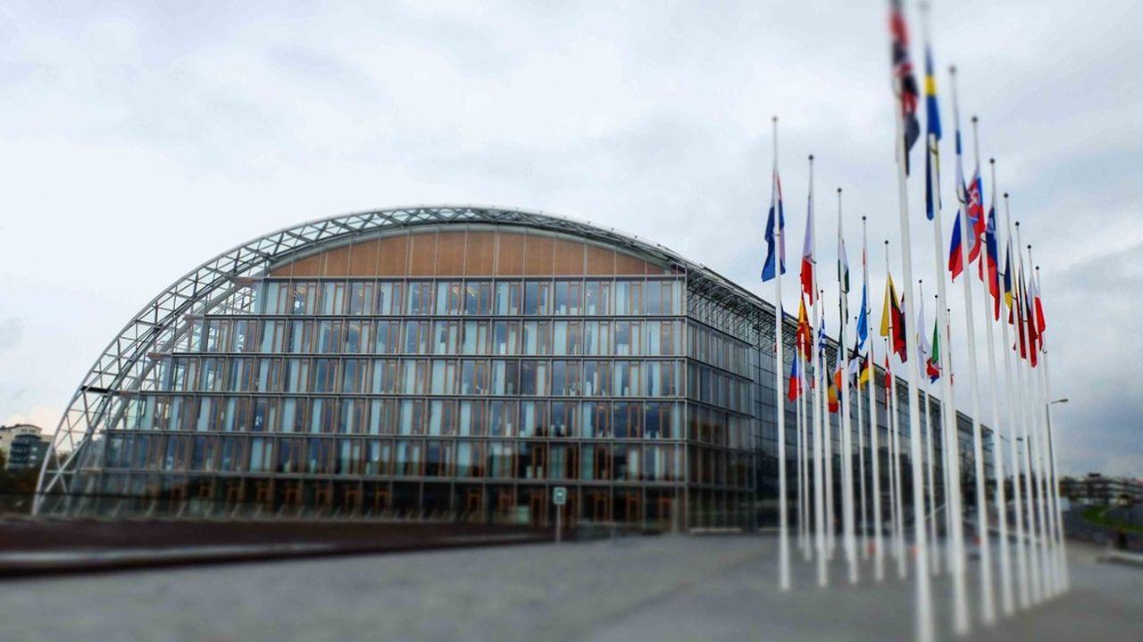 Le siège de la Banque européenne d'investissement, au Luxembourg.