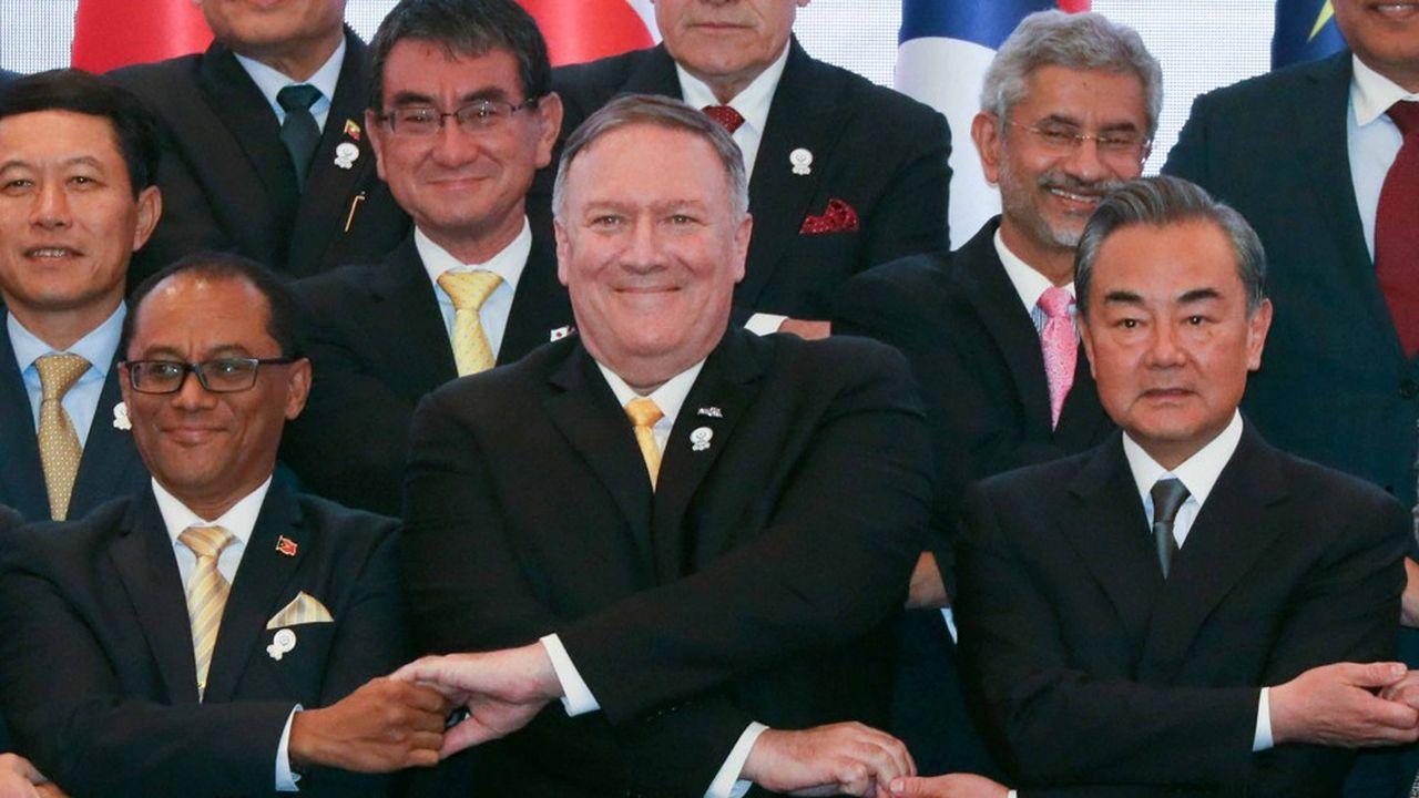 Le Secrétaire d'Etat américain, Mike Pompeo, a participé vendredi à Bangkok à la réunion des ministres des Affaires étrangères des pays de l'ASEAN.