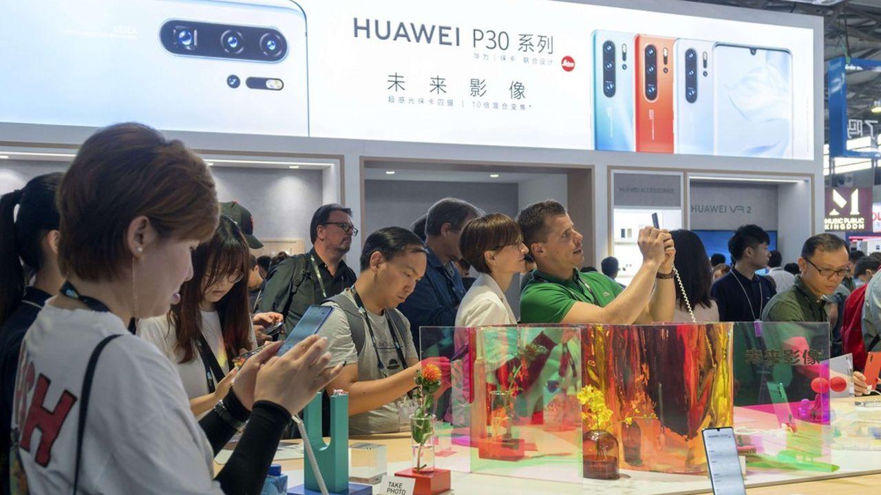 Le géant chinois a vu son chiffre d'affaires progresser de 23,2% sur les six premiers mois de l'année, en dépit des pressions américaines et garce à une hausse de 31% de ses ventes en Chine