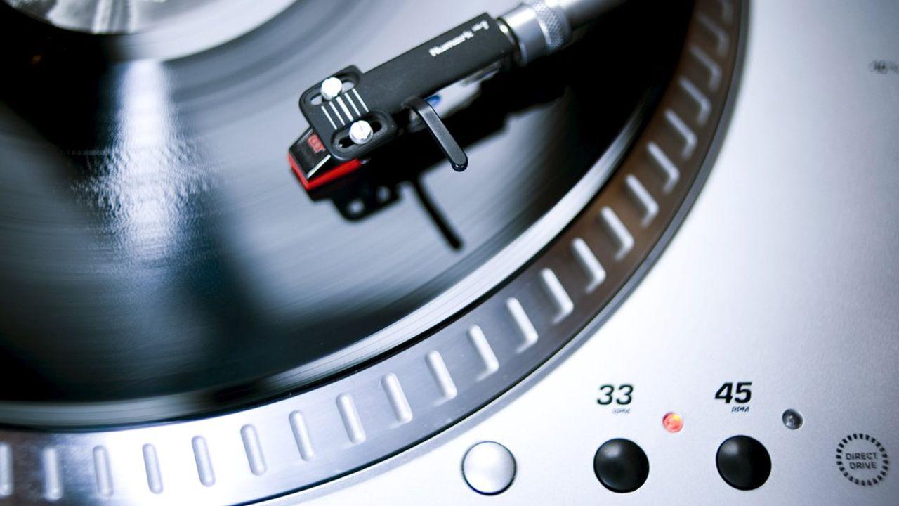 Platine pour disque vinyle