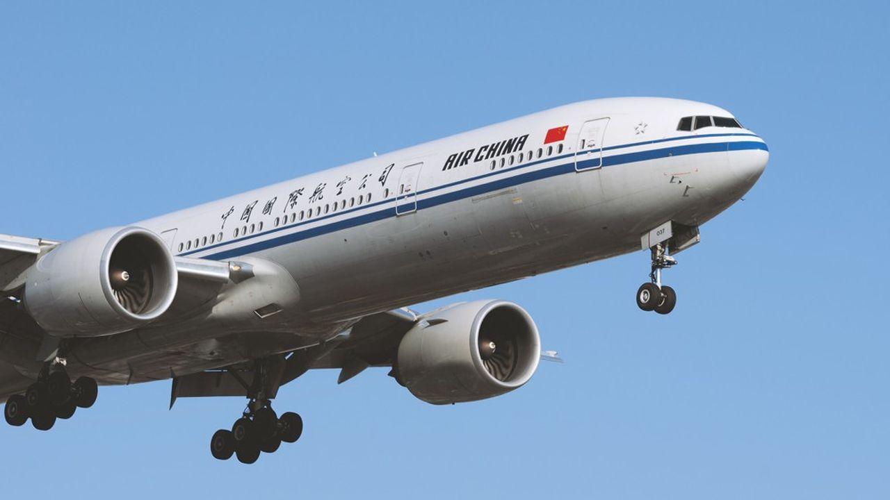 Air China propose depuis le 2août trois vols directs depuis la Chine en direction de Nice.