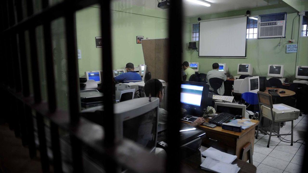 En matière de travail carcéral connecté, les Etats-Unis sont en pointe, avec un premier projet lancé en 2014