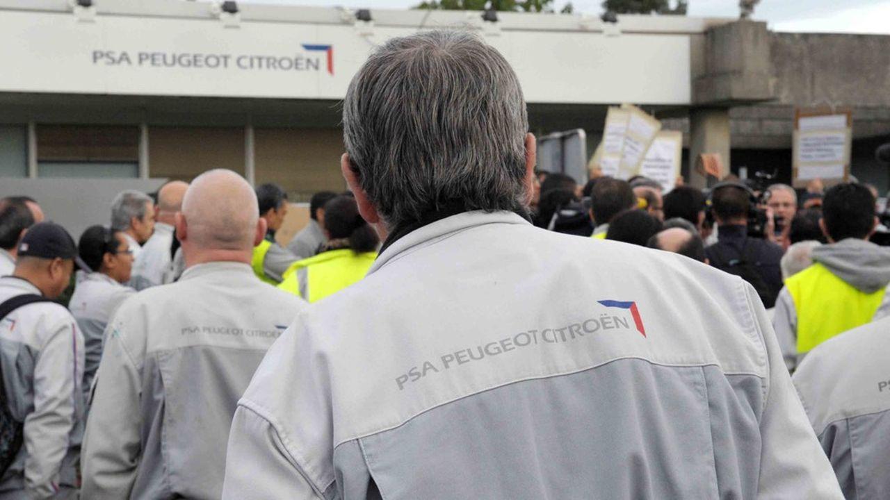 PSA a fermé son usine d'Aulnay-sous-Bois en 2014, contribuant à la chute de la production automobiledans l'Hexagone.