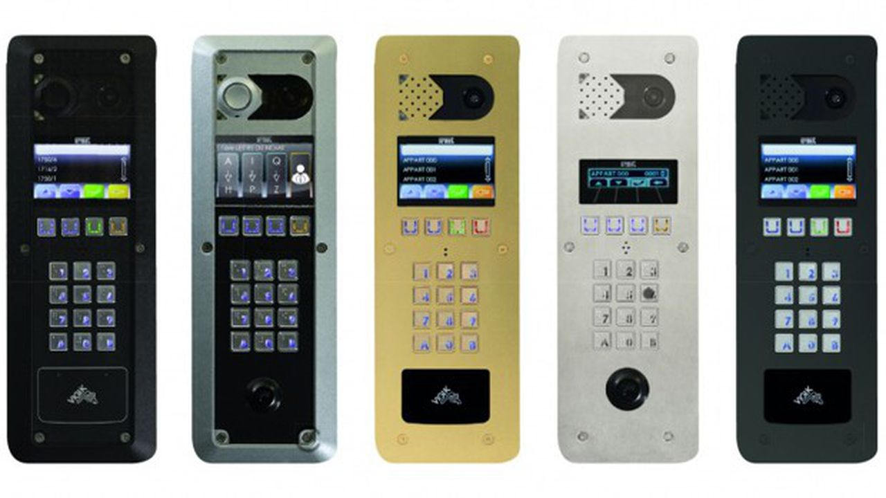 La société Urmet fabrique des interphones.
