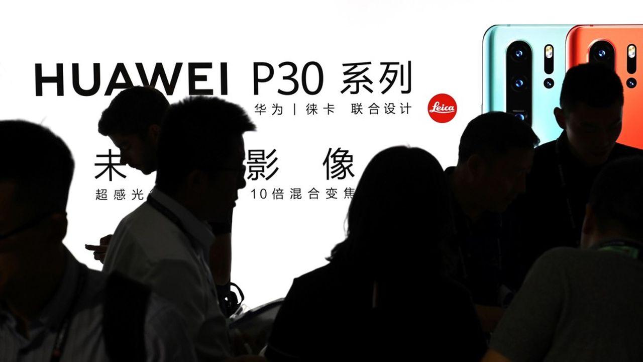 Huawei risque de perdre de 25 à 30milliards de revenus.