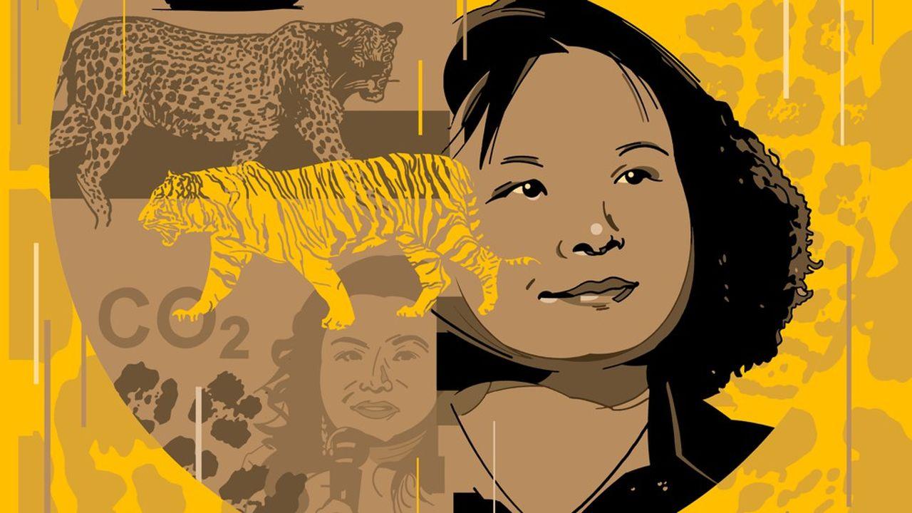 Visitant une exposition de bonsaïs à Pékin, elle a eu une illumination. « Toutes les personnes que je rencontrais me disaient adorer la nature, mais il n'y avait de verdure nulle part, ni dans les immeubles d'habitation ni dans les bureaux », racontera-t-elle plus tard.