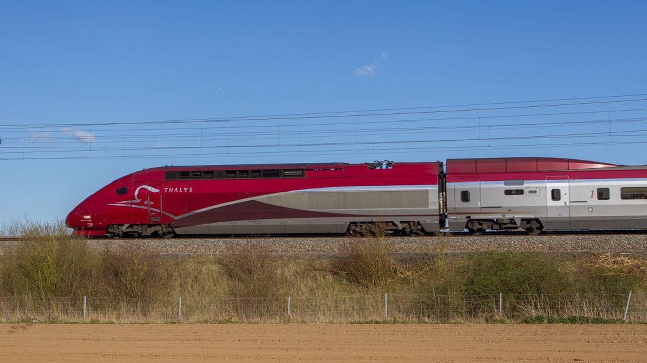 Le Thalys sera concurrencé par les chemins de fer néerlandais entre Amsterdam et Bruxelles avec des trains rapides d'Alstom.