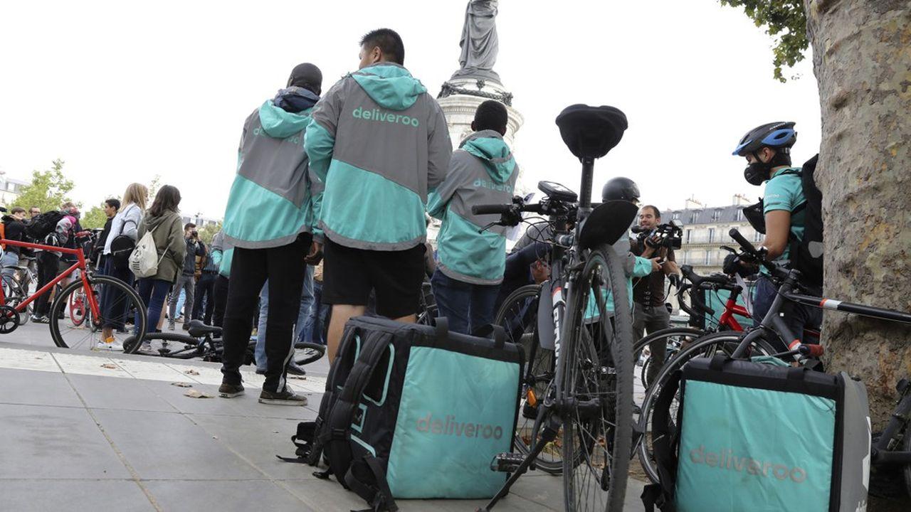 En 2017, déjà, le changement de politique tarifaire de Deliveroo avait provoqué des protestations de livreurs. A Paris, le rassemblement avait déjà eu lieu place de la République, comme samedi dernier.