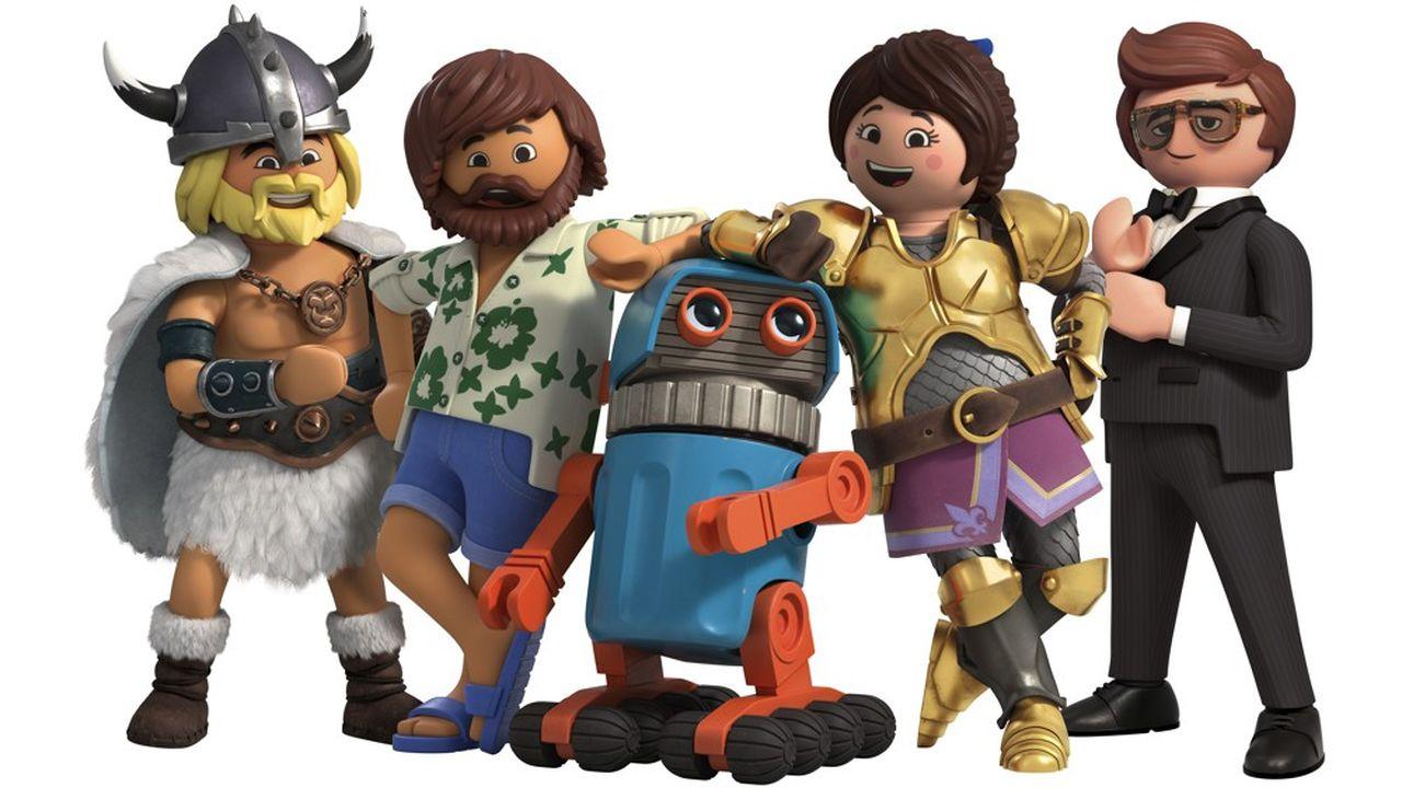 Les personnages issus de «Playmobil, le film» ont un visage très expressif, contrairement aux figurines classiques.