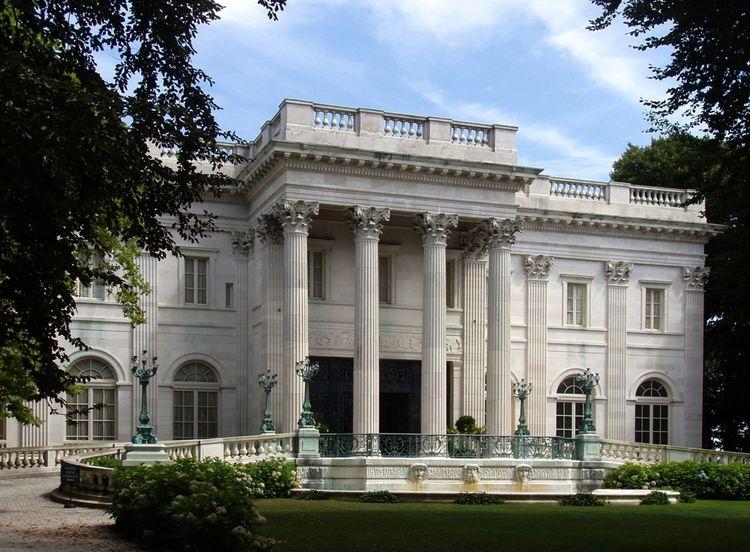 Marble House, le «village d'été» des Vanderbilt à Newport.