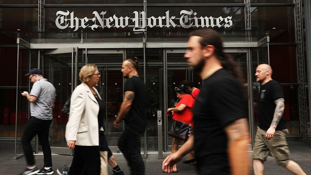 Près de 197.000 abonnés numériques ont été recrutés entre avril et juin par le New York Times