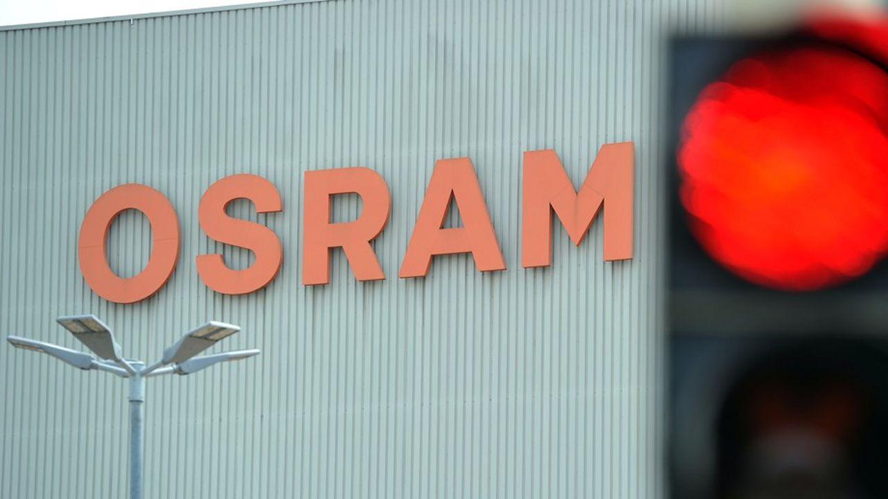 Plombée par la baisse des ventes automobiles et le ralentissement général de l'économie, Osram a perdu plus de 60% de sa valeur depuis son pic de 79,58euros atteint en janvier2018.