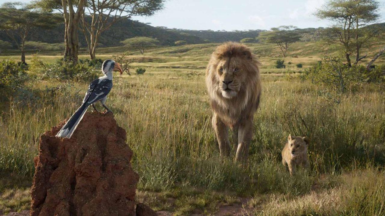 Pour sa troisième semaine, «Le Roi lion» a engrangé 1,3million d'entrées supplémentaires.