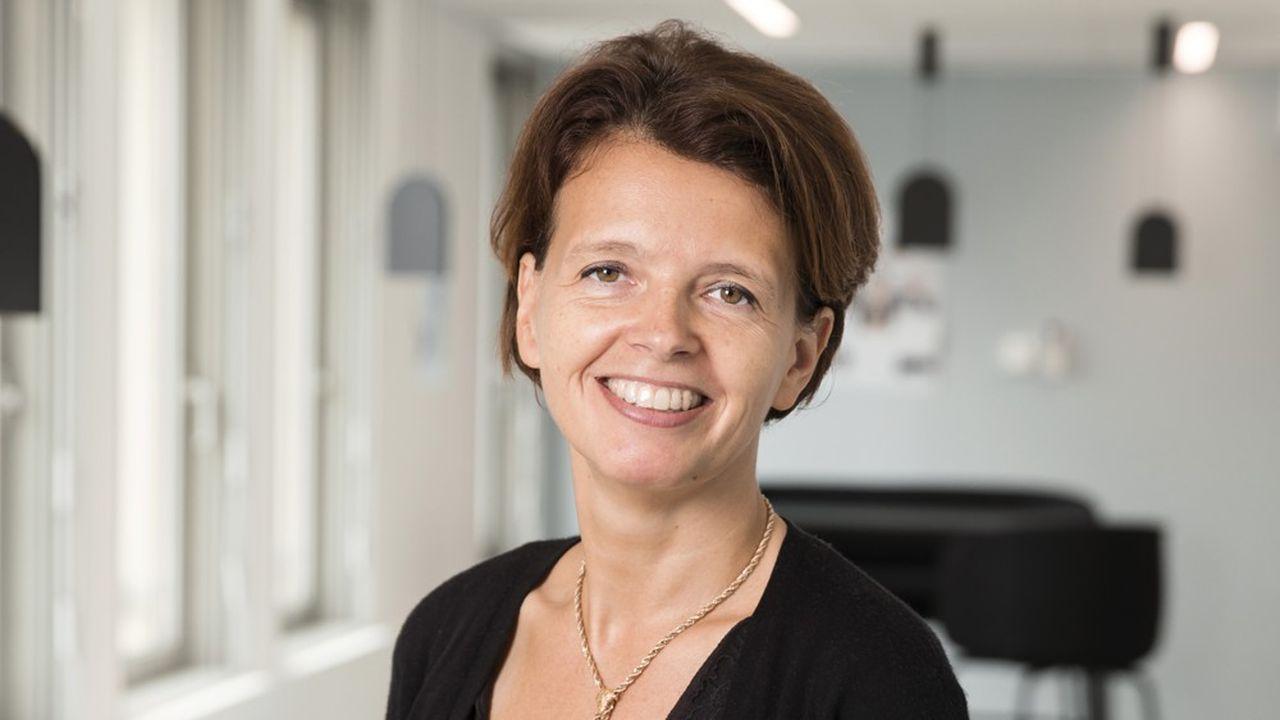 Caroline Parot, présidente du directoire d'Europcar Mobility Group.