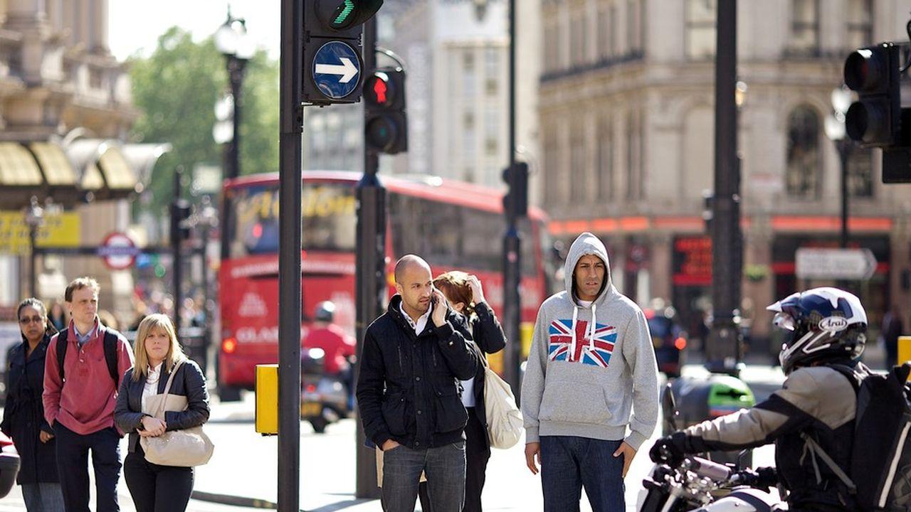 En rythme annuel, la croissance britannique atteint 1,2%, juste au-dessous de ce qu'anticipe désormais la Banque d'Angleterre pour l'ensemble de 2019.