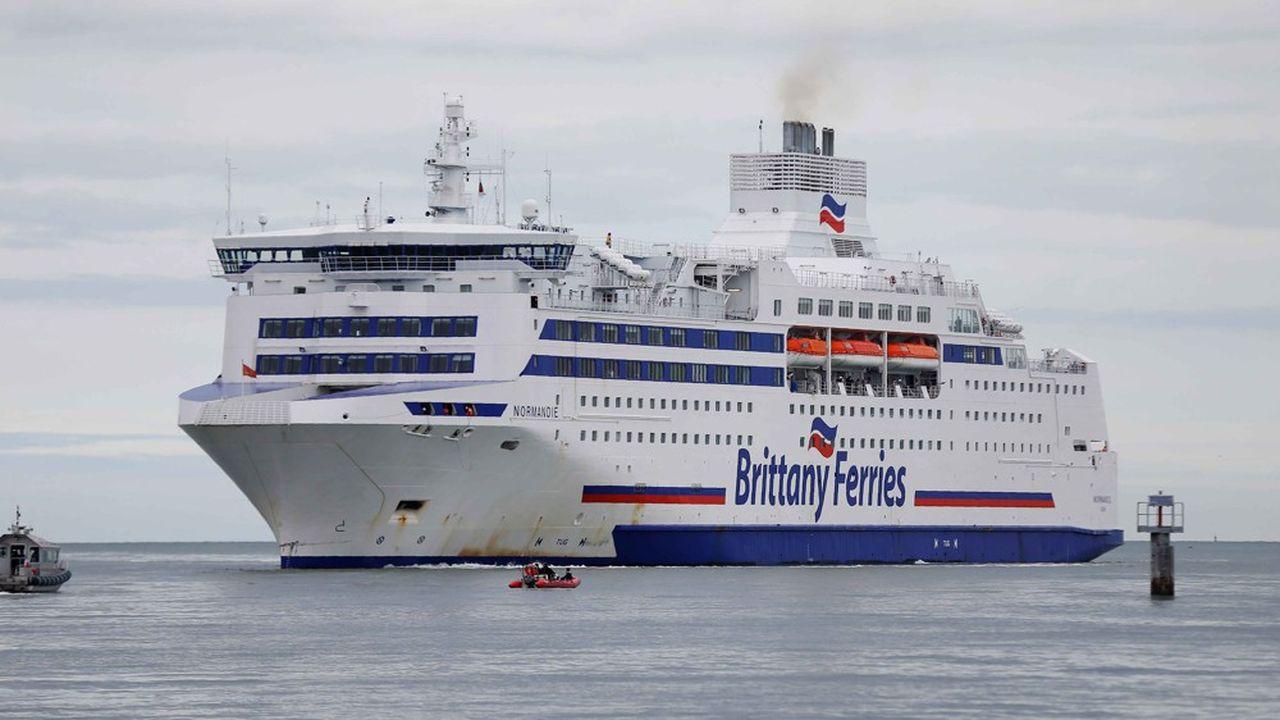 Brittany Ferries compense avec les liaisons vers l'Espagne la baisse du trafic vers la Grande-Bretagne.
