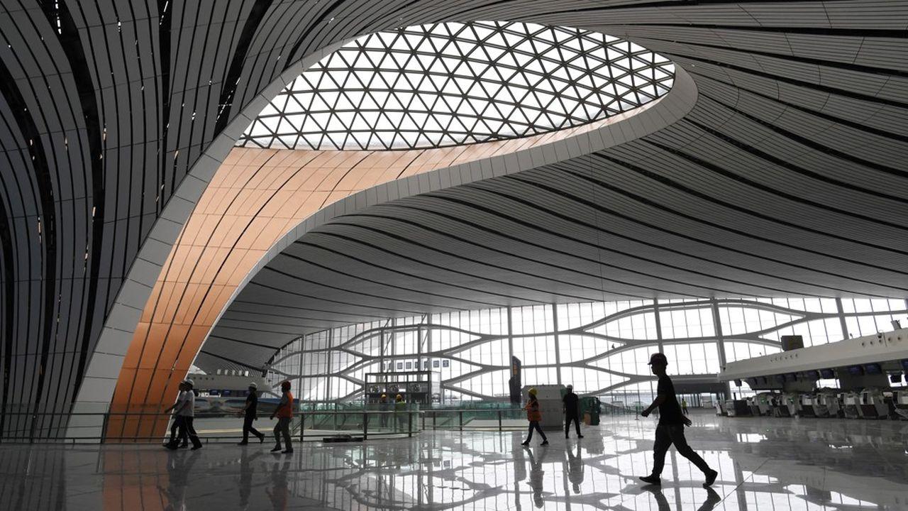 Le nouvel aéroport pékinois, le plus grand du monde, ouvrira ses portes en septembre.