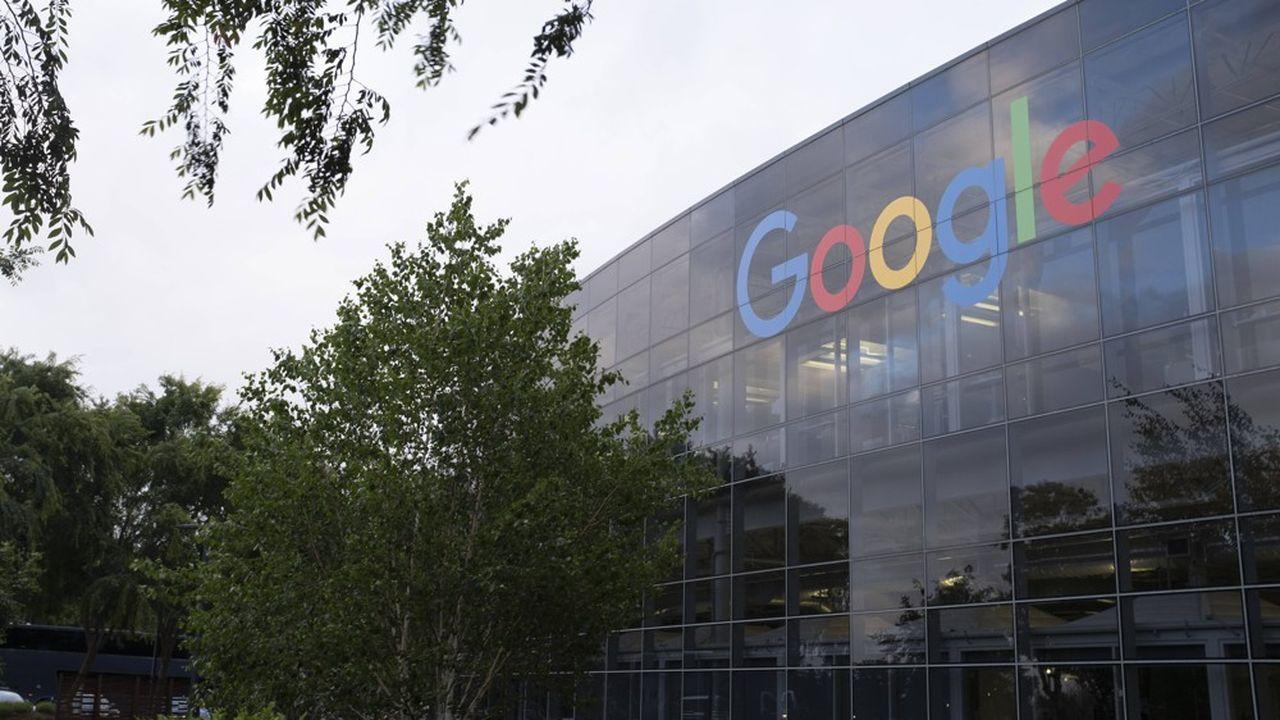 Siège de Google en Californie. Le géant détient actuellement 117milliards de dollars de trésorerie, les plus grosses réserves du monde.