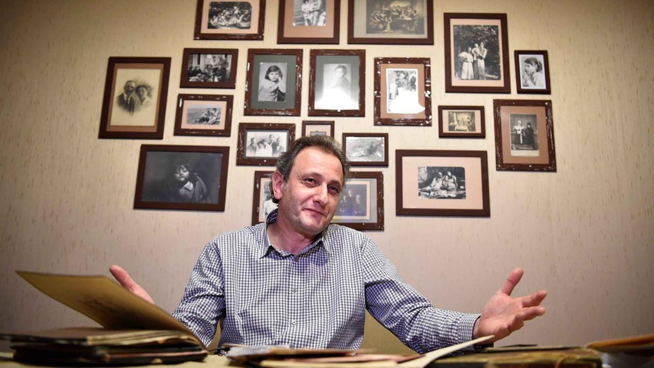Andrei Kolesnikov chez lui, en 2016.