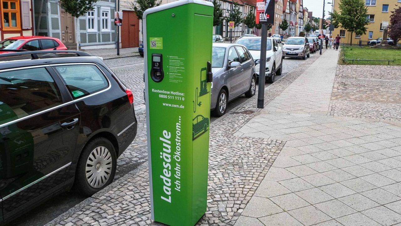 L'Allemagne compte pas moins de 28.400points de recharge pour véhicules électriques.