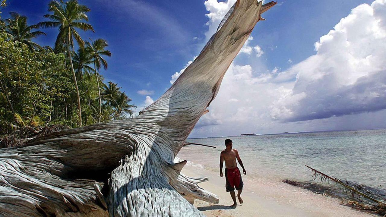 Le Tuvalu, un archipel constitué de neuf atolls coralliens, pourrait devenir totalement inhabitable dès 2030.