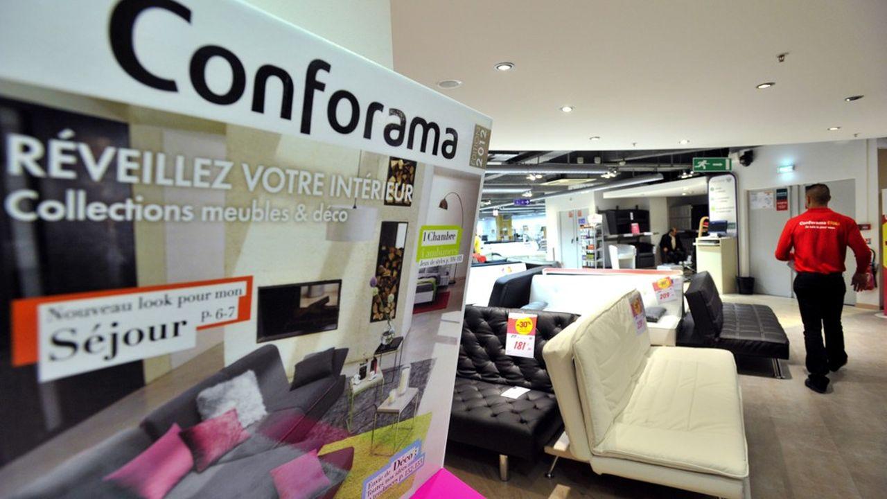 La restructuration de Conforama passe par la suppression de 1.900 postes et la fermeture de 42 magasins. La chaîne pourrait ensuite être vendue.