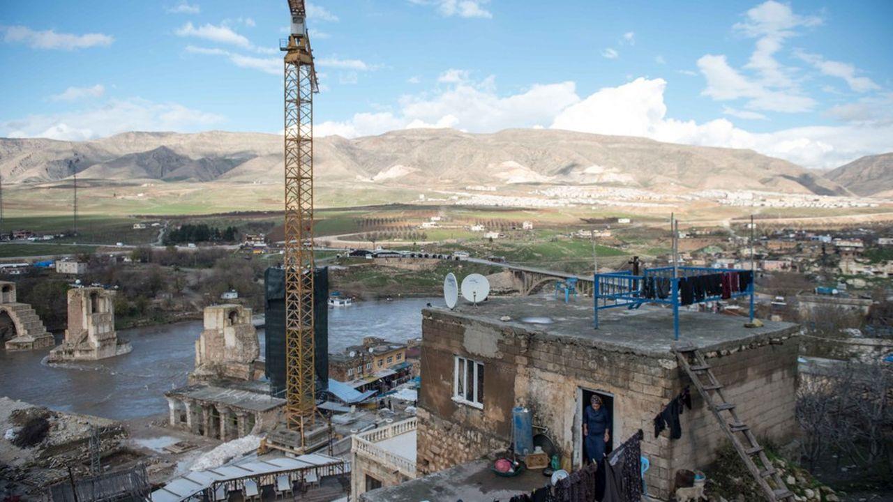 Les chantiers, comme ici dans le sud est du pays pour la construction d'un barrage hydroélectrique, ont fleuri en Turquie ces dernières années et dopé la croissance.