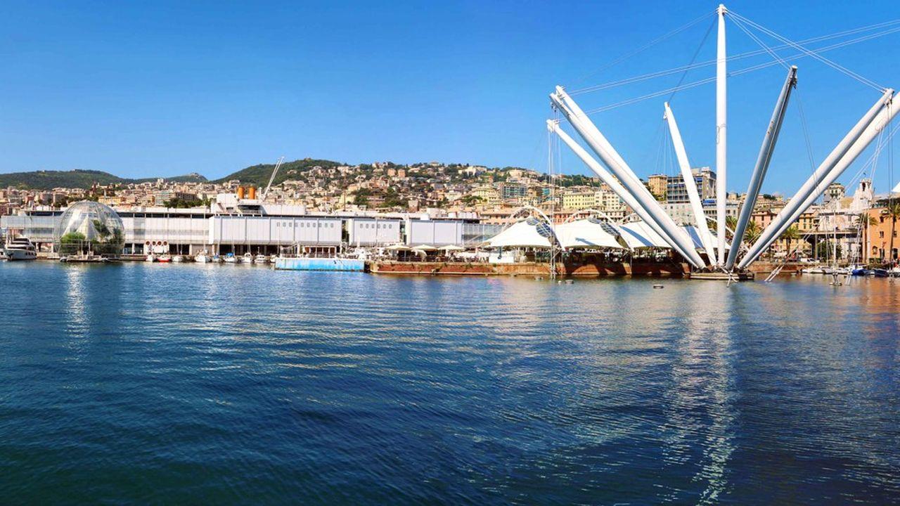 Les solutions alternatives pour l'approvisionnement du port de Gênes en camions ont fonctionné après l'effondrement du pont Morandi.