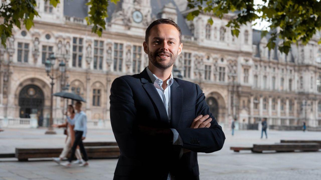 David Belliard, le chef de file du groupe Europe Ecologie-Les Verts au Conseil de Paris, a été désigné comme tête de liste des écologistes pour mener la bataille des municipales dans la capitale en mars2020.