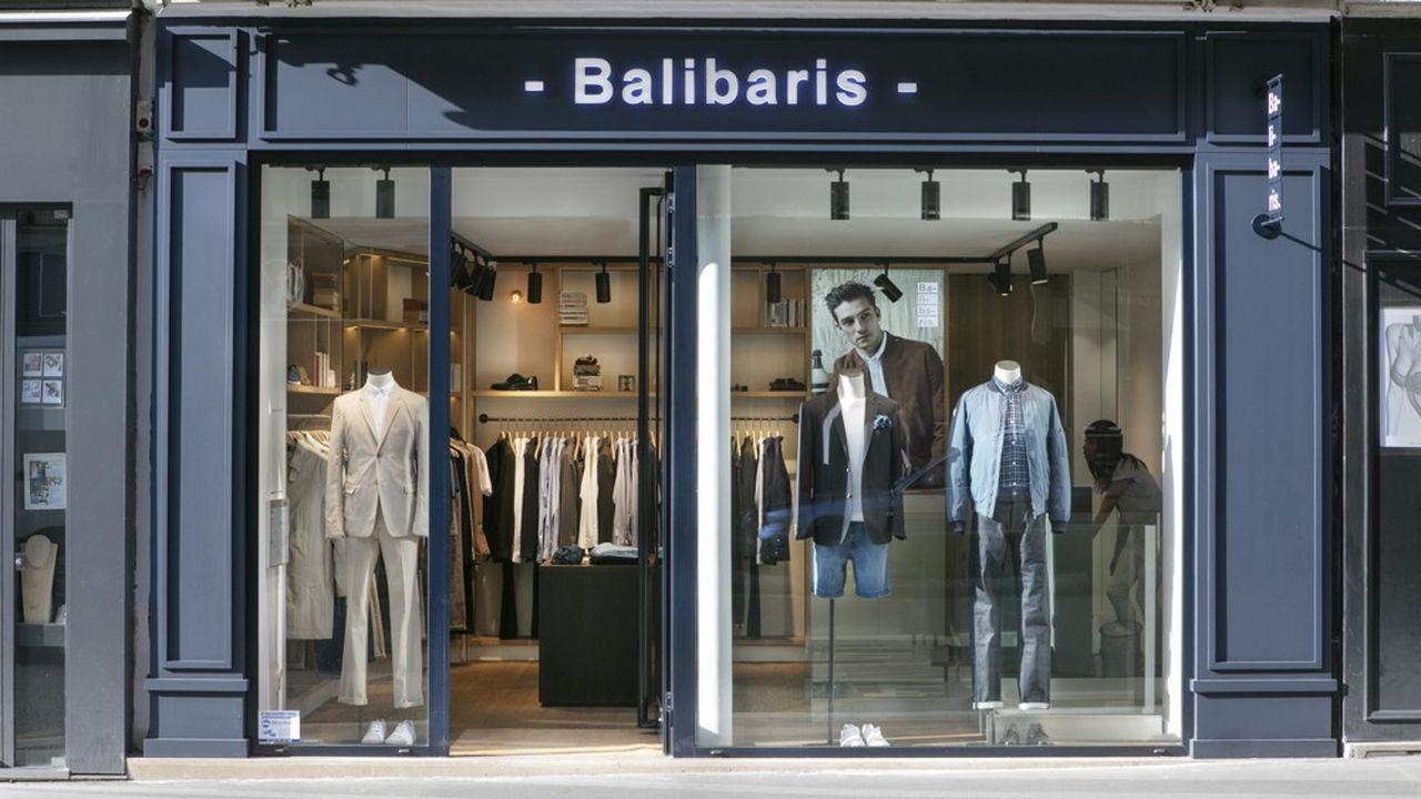 Sur le marché difficile de l'habillement masculin, Balibaris a augmenté ses ventes annuelles de 30%, à 30millions d'euros.