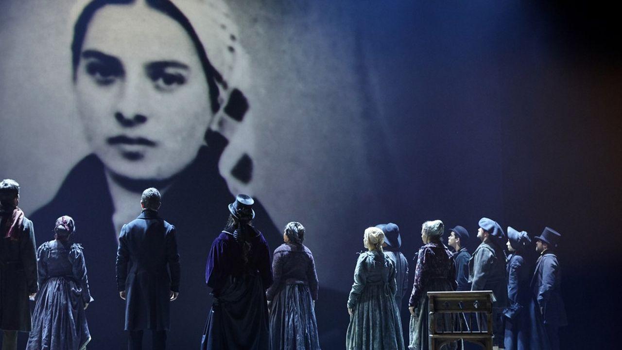 Déjà 42.000billets vendus pour Bernadette de Lourdes.