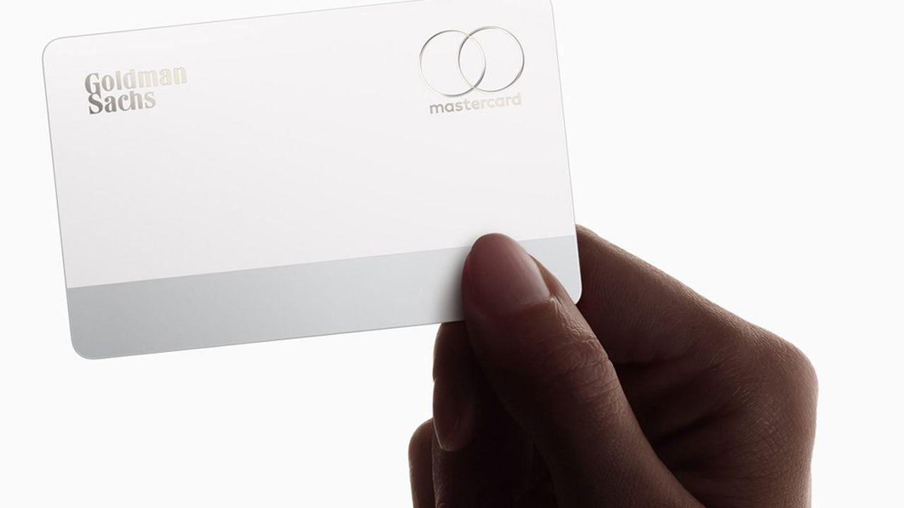 Apple a annoncé en mars une carte de crédit digitale et physique, en lien avec la banque Goldman Sachs et avec MasterCard.