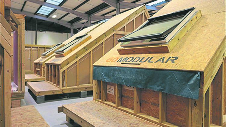 Sur neuf logements, il y a cinq duplex d'une pièce avec chambre à l'étage. Ils sont dotés en usine d'un toit pentu et d'une lucarne à l'ancienne qui seront revêtus pour former la nouvelle toiture de la partie arrière de l'immeuble, en harmonie avec les corniches et les lucarnes de l'architecture géorgienne de la rue.
