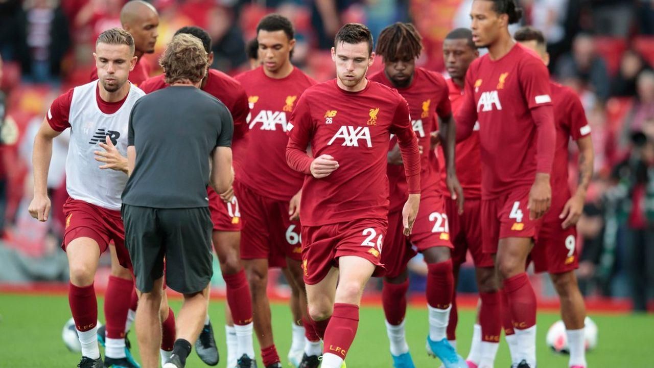 Football : AXA espère être entraîné par Liverpool