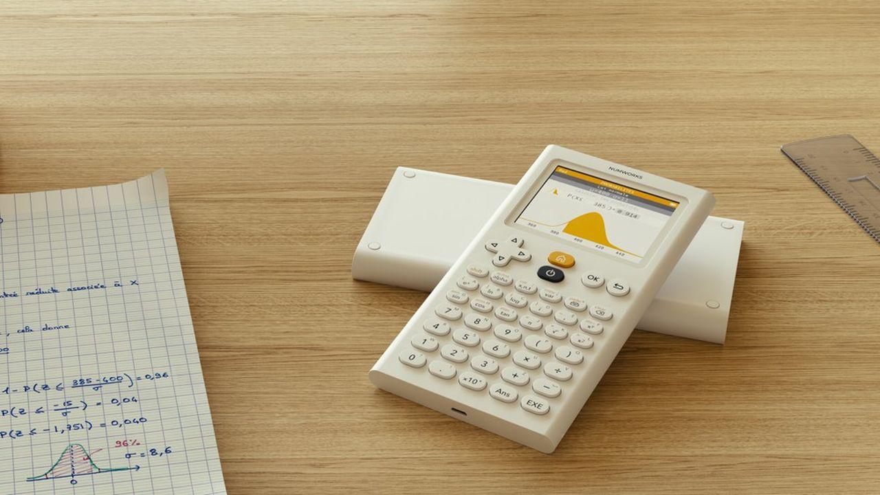 Il y a deuxans, la start-up française NumWorks a commercialisé sa calculatrice graphique.