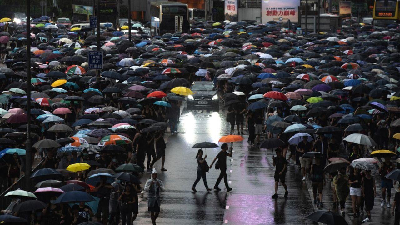 Hong Kong: la finance en état d'alerte