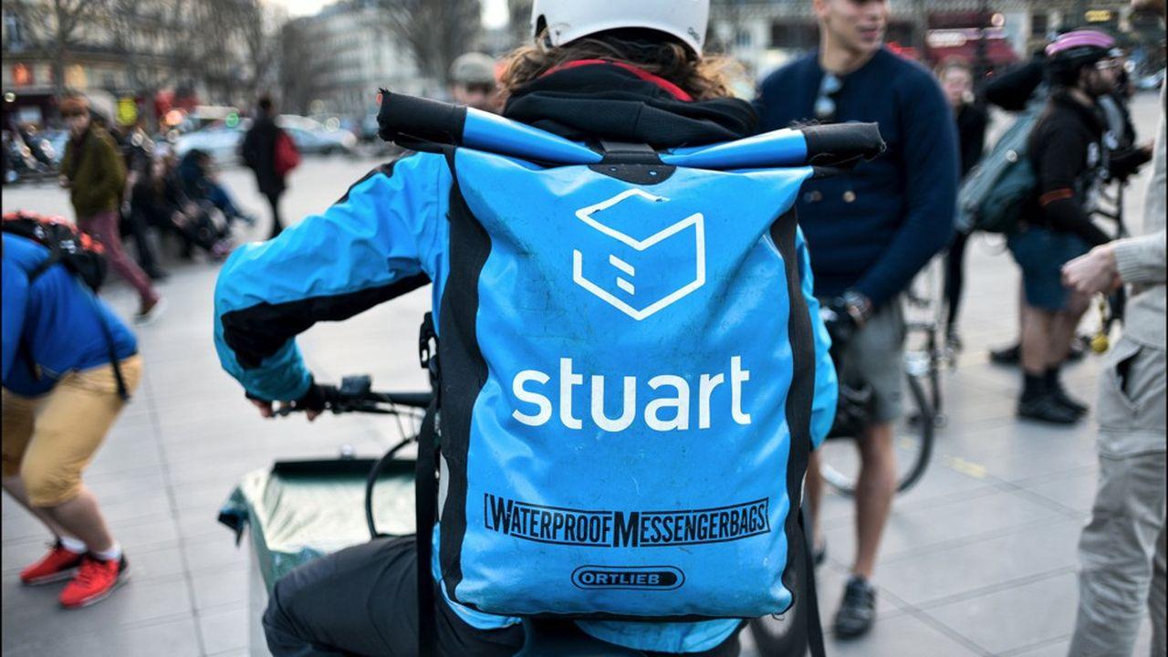 Stuart est l'une des principales sociétés de livraison opérant dans les grandes villes le dernier kilomètre pour livrer les clients des grandes enseignes.