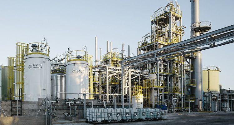 Plastic Energy a deux usines de 7.000 tonnes chacune en fonctionnement en Espagne.
