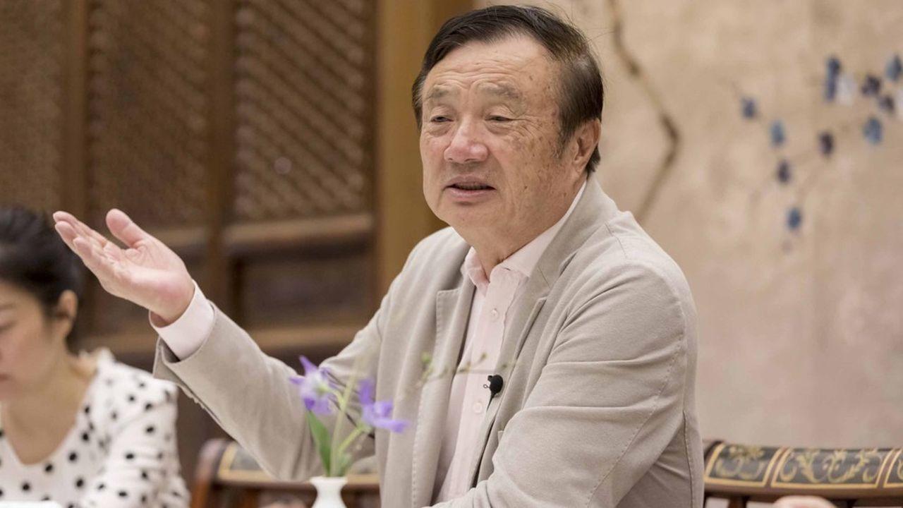 Ren Zhengfei, le fondateur de Huawei, dénonce l'ostracisation de son groupe par les Etats-Unis