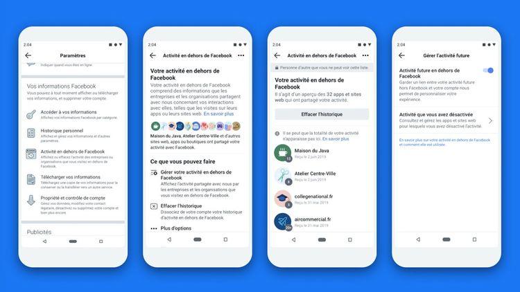 La fonction «Off-Facebook Activity» va permettre aux utilisateurs de mieux contrôler les informations récupérées par la plate-forme lorsqu'ils surfent sur le Web.