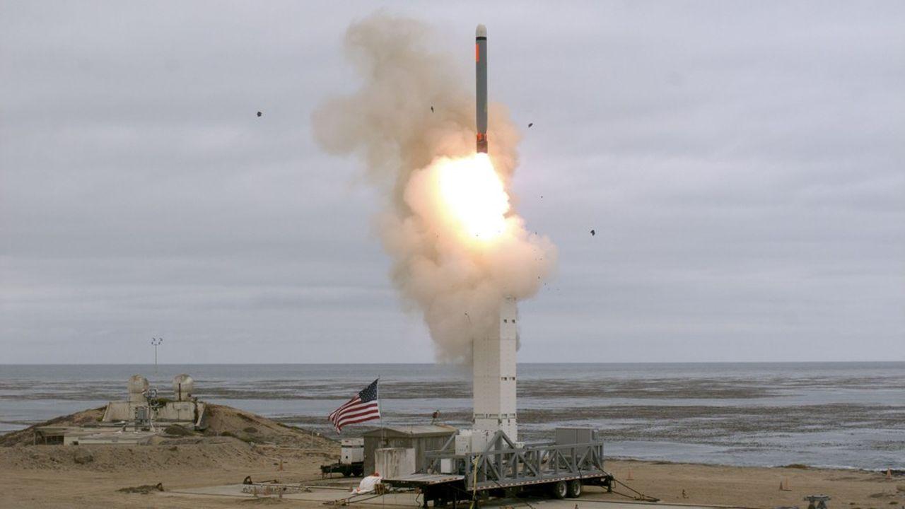 Le Département de la Défense a déclaré avoir testé avec succès un missile conventionnel depuis sa base de l'île San Nicolas en Californie.