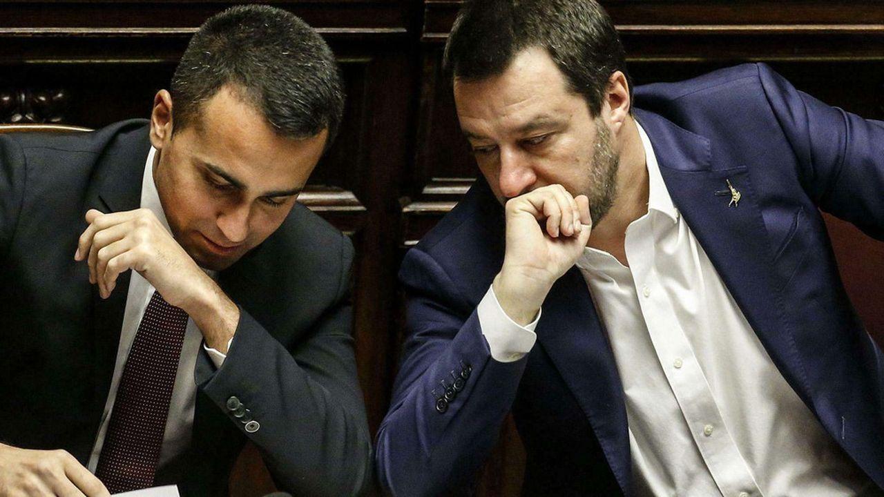 La longue liste de réformes établie fin mai2018 par Luigi Di Maio et Matteo Salvini n'aura accouché que de quelques mesures phares.
