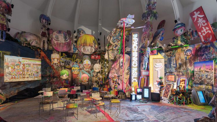 Le musée Guimet attire grâce aux artistes contemporains un public différent.